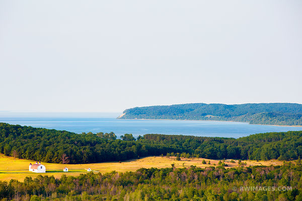 PIERCE STOCKING SCENIC DRIVE SLEEPING BEAR DUNES NATIONAL LAKESHORE MICHIGAN