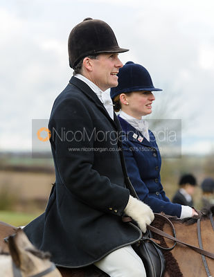 The Cottesmore Hunt at Castle Bytham 20/2 photos