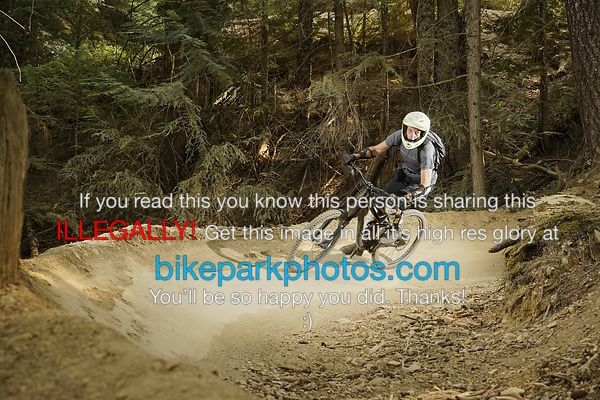 Friday August 24th Lower BLine bike park photos