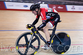 Master C/D Men Points Race. Ontario Track Championships, Mattamy National Cycling Centre, Milton, On, March 3, 2017
