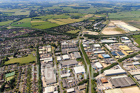 Aerial Photography Taken In and Around Andover, UK
