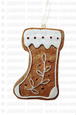Cute little holiday boots Christmas decoration