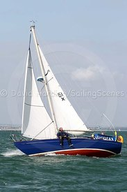 Scramasax, 51X, Cutlass 27, Round the Island Race 2008