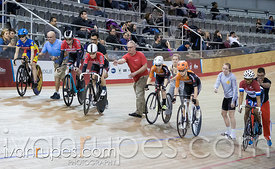 Women Keirin Final. Track O-Cup #2, Mattamy National Cycling Centre, Milton, On, January 15, 2017