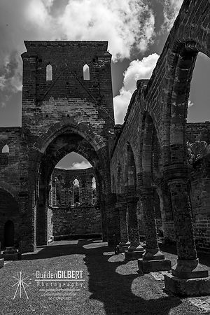 Unfinished Church 2 - B&W
