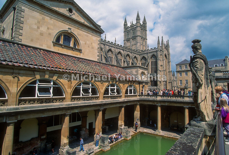 Old City of Bath, Avon, England