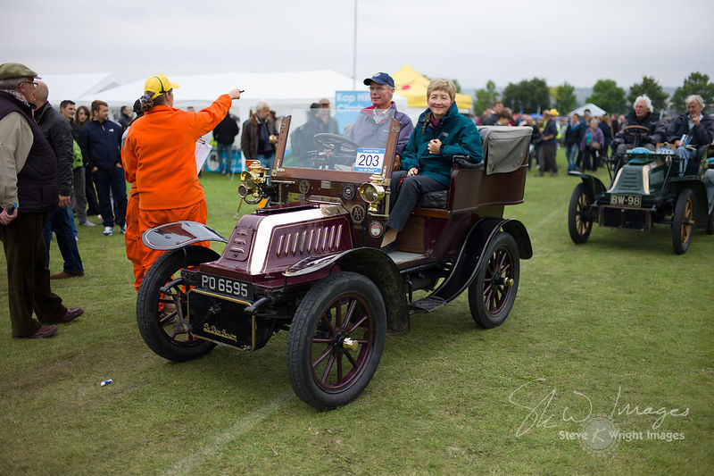 De Dion Bouton Model V (8hp, 1904) - Kop Hill Climb 2013