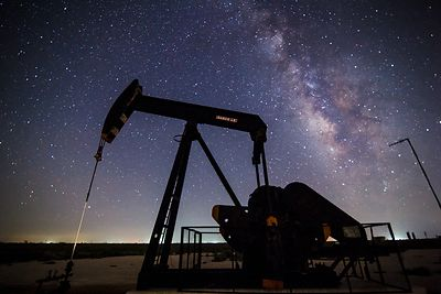 Pump Jack and Milky Way #5