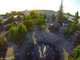 Aerial View of the Chico Plaza #5