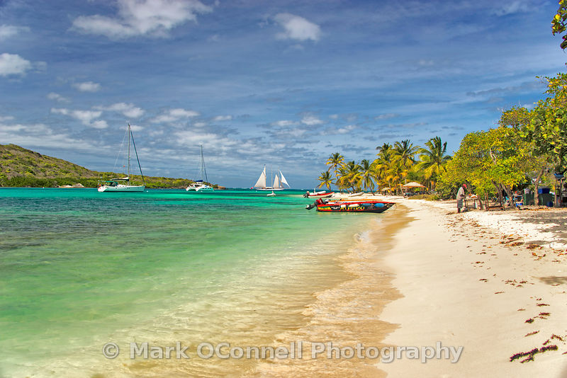 Adix in Tobago Cays