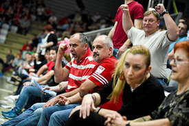 fans during the Final Tournament - Final Four - SEHA - Gazprom league, first place match, Varazdin, Croatia, 03.04.2016..Mandatory Credit ©SEHA/Nebojša Tejić