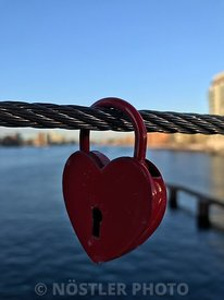 A Copenhagen Love lock