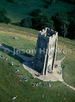 Glastonbury Tor, Somerset. England.