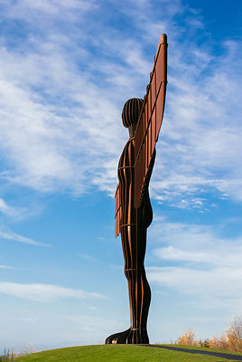 Antony Gormley and the Angle of the North