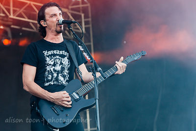Joe Duplantier, vocals and guitar, Gojira