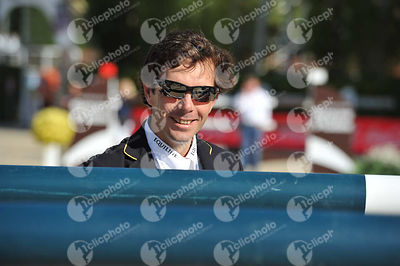 Eduardo ALVAREZ AZNAR ,(ESP) during Coca-Cola Trofey competition at CSIO5* Barcelona at Real Club de Polo, Barcelona - Spain