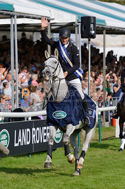 Andrew Nicholson (NZL) wins Land Rover Burghley Horse Trials 2014