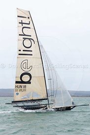 Be Light, HUN 18, 18ft Skiff, Euro Grand Prix Sandbanks 2016, 20160904446