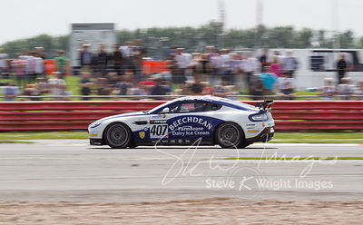 Beechdean Aston Martin Racing in action at the Silverstone 500 - the third round of the British GT Championship 2014 - 1st June 2014