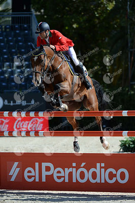 Piergiorgio BUCCI ,(ITA), HEARTBREAKER VD ACHTERHOE during Coca-Cola Trofey competition at CSIO5* Barcelona at Real Club de Polo, Barcelona - Spain