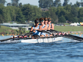 Taken during the National Championships 2018, Lake Karapiro, Cambridge, New Zealand; ©  Rob Bristow; Frame 0988 - Taken on: Friday - 16/02/2018-  at 09:01.03