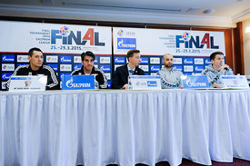 SEHA Final Four -  SEHA final game press conference