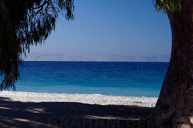 Ialyssos Beach, Rhodes, Dodecanese Islands, Greece.