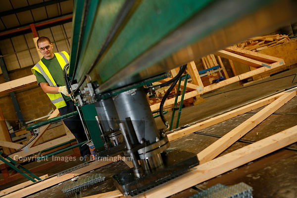 Timber frame production, Birmingham