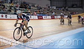 Master C/D Men Keirin Final. Ontario Track Provincial Championships, March 6, 2016