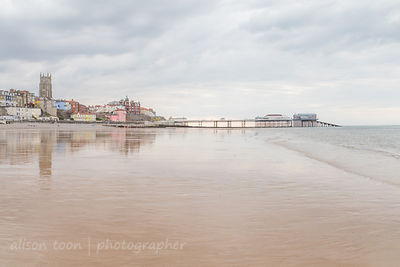 Cromer at low tide