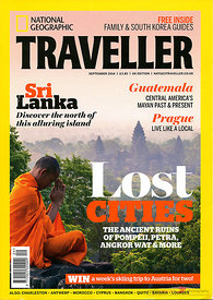 National geographic traveller UK cover