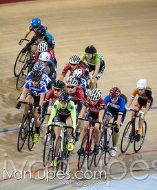 U17 Women's Omnium Elimination Race. 2015 Canadian Track Championships, October 10, 2015