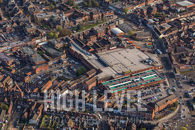 Aerial Photography taken in and around Grantham, UK