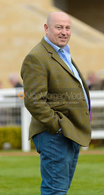 Terry Spraggett in the Parade Ring - Champions Willberry Charity Flat Race - Cheltenham Racecourse, April 20th 2017
