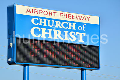 Church of Christ Sign