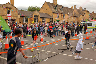 Torch Relay Tennis Activity in Chipping Campden