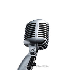 Microphone old style / with path
