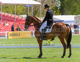 Sam Watson and HORSEWARE BUSHMAN - Dressage - Mitsubishi Motors Badminton Horse Trials 2013.