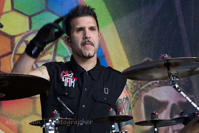 Charlie Benante, drums, Anthrax