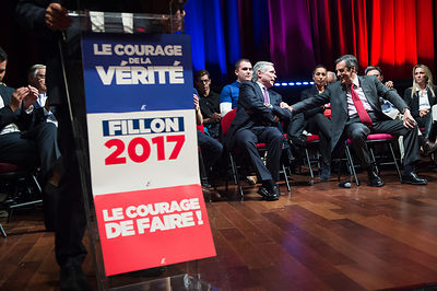 Meeting de Francois Fillon a La Grande Motte