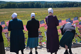 Mennonite Women at Flight 93 Memorial