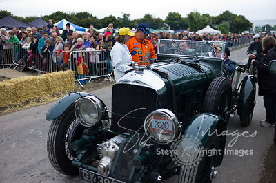 Bentley Blower (4.5-litre, 1930). Doug Hill in the National Motor Musuem's entry - Kop Hill Climb 2013
