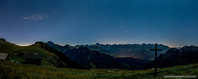Orion over the Aravis - Plateau des Auges Glières