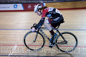 U17 Women Sprint 3-4 Final. 2016/2017 Track O-Cup #3/Eastern Track Challenge, Mattamy National Cycling Centre, Milton, On, February 11, 2017