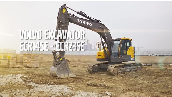 Volvo_ECR145E__ECR235E_excavators_promotional_video