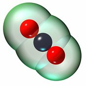 Carbon Dioxide Molecule (CO2) #6