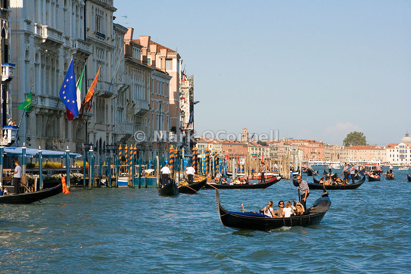 Gondolas on the Grand canal v2