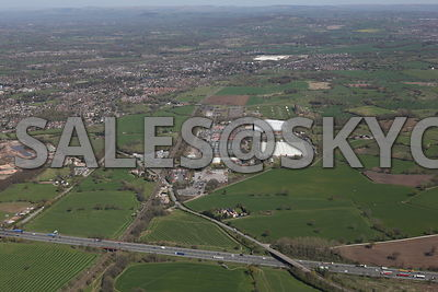 Crewe Aerial photographs