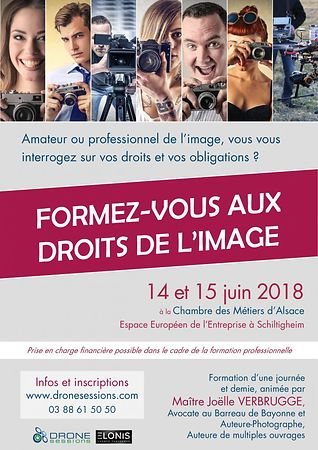Formation - Droit de l'image par Joëlle VERBRUGGE - Juin 2018 photos