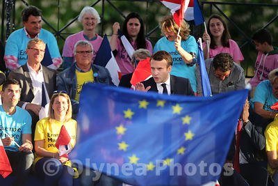 Last meeting Emmanuel Macron in Albi